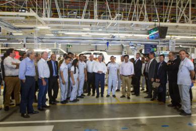 Polo Automotivo Jeep® inicia terceiro turno de produção